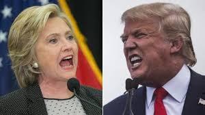 Donald Trump vs Hilary Clinton