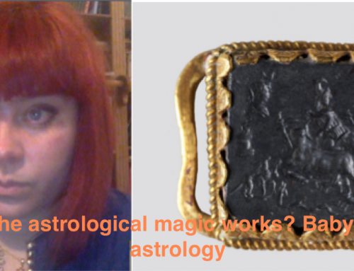 Why the astrological talismans work? Babylonian astrology